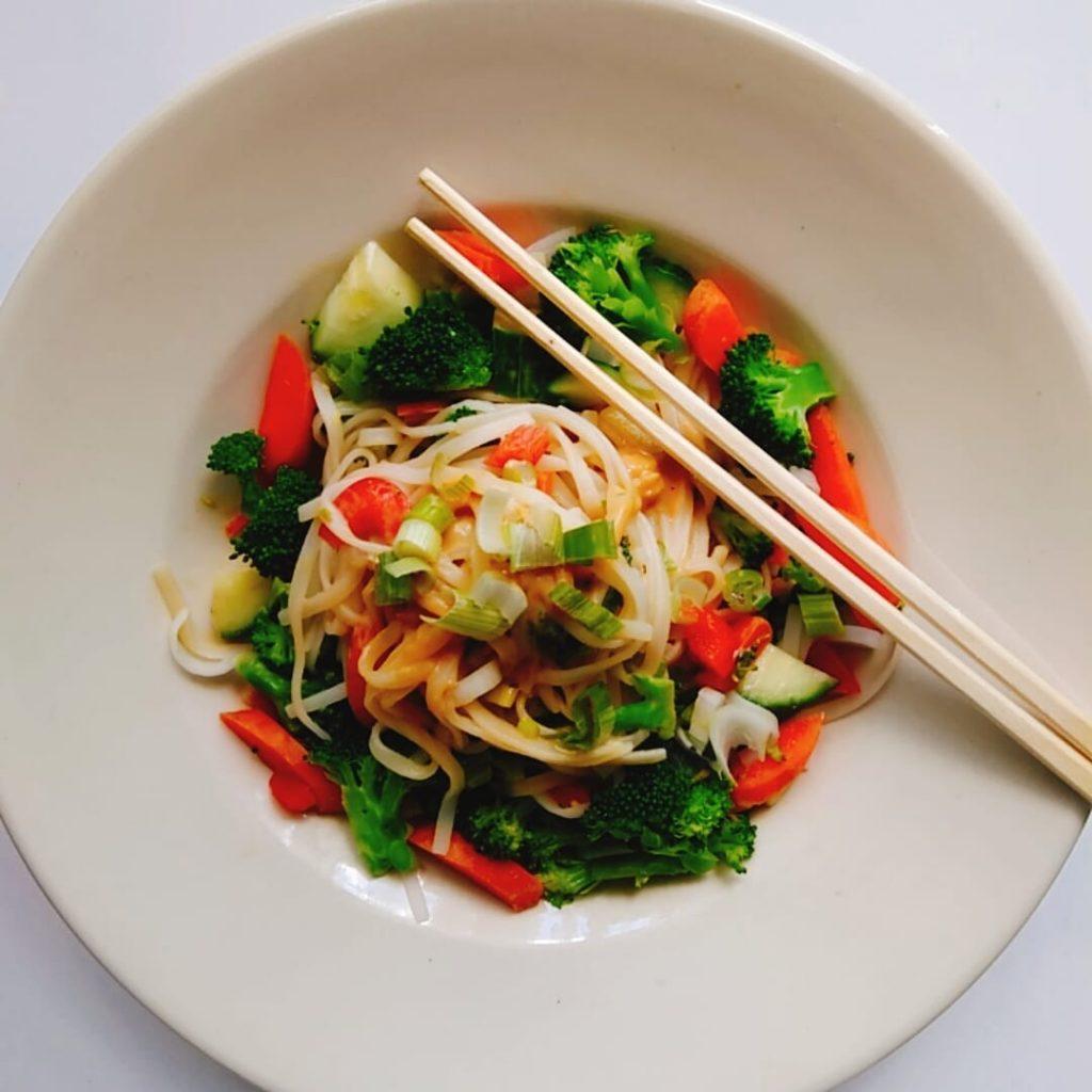 cold Asian Noodle salad 1
