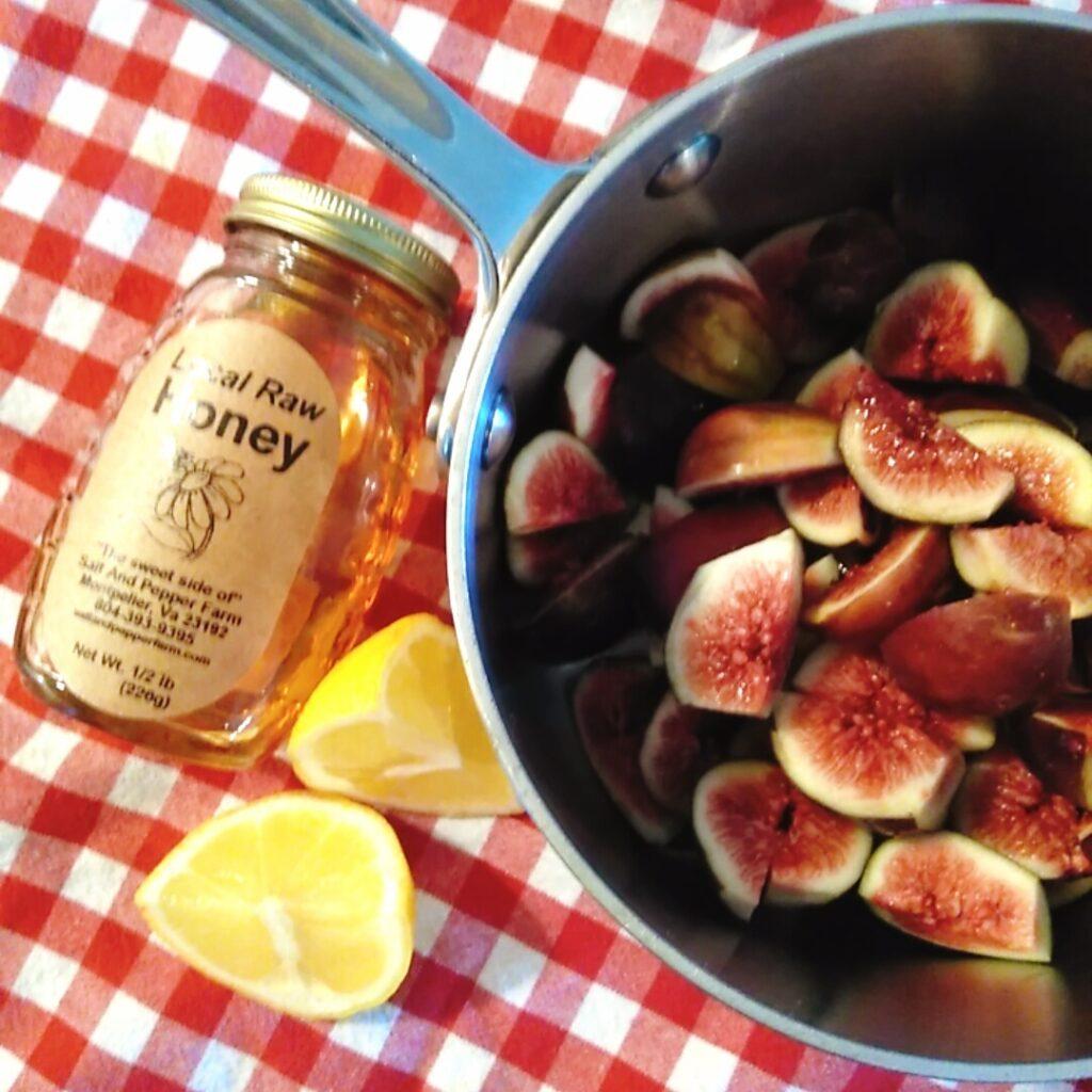 figs in pot