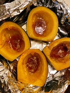roasted acorn squash 1 1